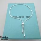 §海洋盒子§簡約可調整式蛇鍊925純銀手鍊