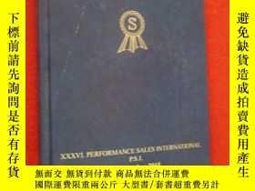 二手書博民逛書店XXXVI.PERFORMANCE罕見SALES INTERNATIONAL P.S.I. 附DVD2張Y15