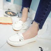懶人鞋 春夏季百搭女韓版平底鞋一腳蹬媽媽鞋休閒單鞋 QX1228『男神港灣』