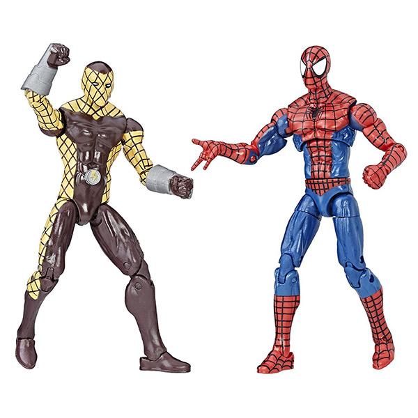 MARVEL漫威人物 蜘蛛人 震動人 雙人組 3.75吋模型人偶 (孩之寶Hasbro) 51722