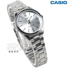 CASIO卡西歐 LTP-V005D-7B 簡潔風格鋼帶女錶 石英錶 防水手錶 不銹鋼 銀 LTP-V005D-7BUDF