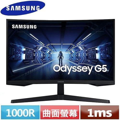 SAMSUNG三星 27型 1000R曲面螢幕 C27G55TQWC