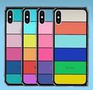 蘋果11彩虹玻璃手機殼7/8/SE2新款xsmax全包XR適用7p/8P保護套11 PRO