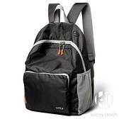 雙肩包可折疊電腦背包書包14英寸大容量防潑水輕便收納攜帶戶外旅行包【Kacey Devlin】