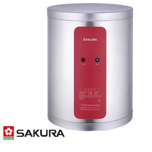 櫻花 SAKURA 電熱水器 31L 6KW 直掛式 型號EH0810S6 儲熱式