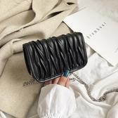 ins包包女新款潮百搭斜背包限定洋氣高級感鍊條包仙女包 聖誕交換禮物