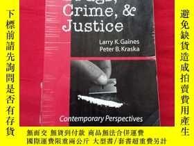 二手書博民逛書店second罕見Edition Drugs,Crime,Justice.Y267268 看圖 看圖