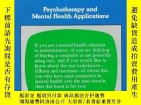 二手書博民逛書店Using罕見Computers in Clinical Practice: Psycho and Mental