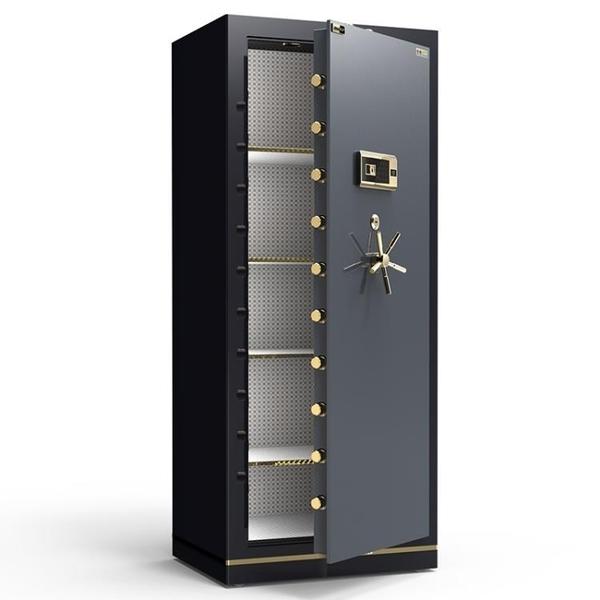 保險櫃 歐奈斯保險櫃指紋密碼全鋼家用辦公雙門1米防盜大型保險箱保管箱對開門投幣智DF 艾維朵