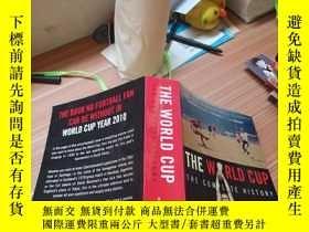 二手書博民逛書店THE罕見WORLD CUP THE COMPLETE HISTORYY179226