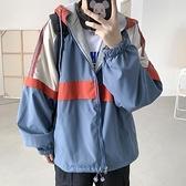 棒球服 兩面穿外套男秋冬季韓版寬鬆拼色工裝夾克港風學生運動棒球服 芊墨左岸