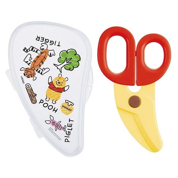 【震撼精品百貨】Winnie the Pooh 迪士尼 DISNEY 小熊維尼 POOH 嬰兒食物剪刀附盒#41307