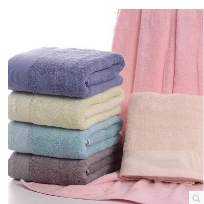 五星級飯店浴巾白色純棉加大加厚吸水成人美容院浴巾飯店全棉浴巾