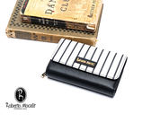 【Roberto Mocali】義大利諾貝兔經典黑白條紋13卡1照中夾(RM-79922)