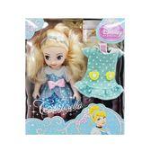 《 Disney 迪士尼 》4吋迷你 灰姑娘 ╭★ JOYBUS玩具百貨