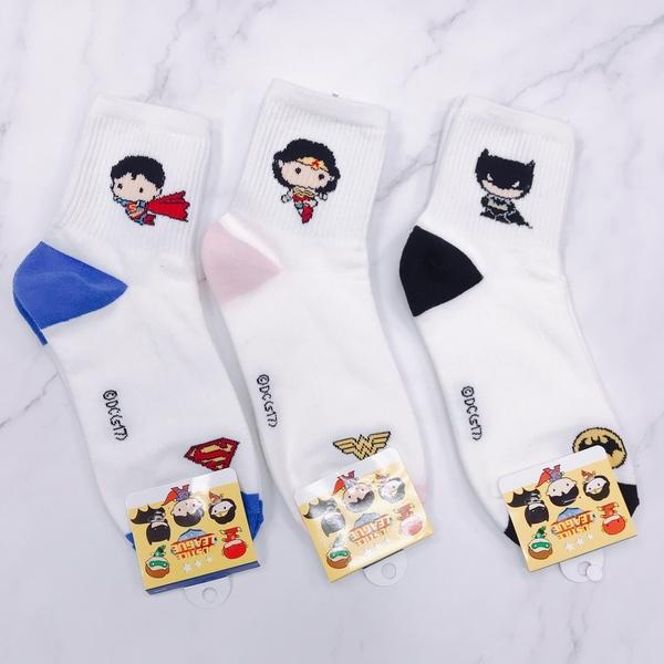 韓國襪子 MARVEL系列 長筒點點襪 蜘蛛人 鋼鐵人 神力女超人 SUPERMAN