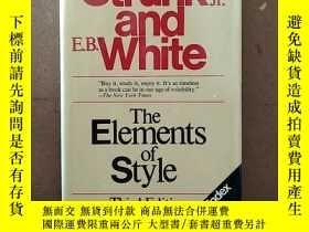二手書博民逛書店The罕見Elements Of Style, Third EditionY269331 William St