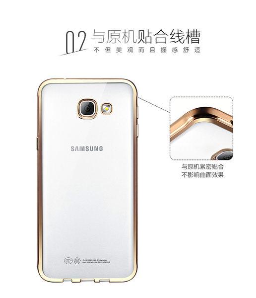 三星 Galaxy S8 plus 6.2吋 TPU電鍍邊框殼 矽膠軟殼 保護殼 背蓋殼 手機殼 透明殼 電鍍殼 S8+ / G955FD