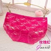 性感內褲【Gaoria】悸動芳心 低腰蕾絲 性感內褲三角褲 玫瑰紅