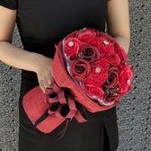 七夕情人節禮物女朋友浪漫情侶實用新娘花束香皂花仿真玫瑰花束