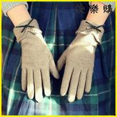 騎行手套 加絨加厚保暖羊絨薄款開車手套機車手套