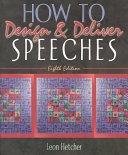 二手書博民逛書店 《How to Design & Deliver Speeches》 R2Y ISBN:0205378013│Pearson College Division