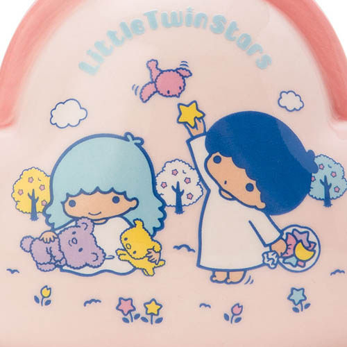 【震撼精品百貨】Little Twin Stars KiKi&LaLa 雙子星小天使~雙星仙子復古口金包造型陶磁存錢筒