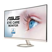 """ASUS 華碩 27"""" VZ27VQ曲面 (VGA.HDMI.DP/含喇叭/VA)"""