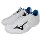(B7) MIZUNO 美津濃 男鞋 THUNDER BLADE 2 基本款排球鞋 羽球鞋 V1GA197046 白 [陽光樂活]