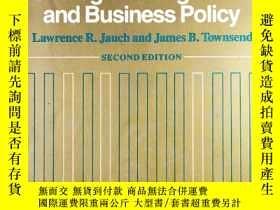 二手書博民逛書店Cases罕見in Strategic Management and Business Policy 2nd.Ed