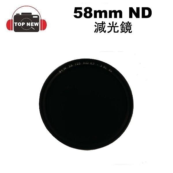[出清品] B+W 58mm ND 8X 減光鏡 N.DENSITY 德國製造 台南-上新