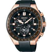 SEIKO精工 ASTRON 8X53 雙時區鈦GPS衛星定位手錶 8X53-0BB0K(SSE170J1)