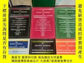 二手書博民逛書店THE罕見IRANIAN JOURNAL OF INTERNATIONAL AFFAIRS(英文原版)Y188