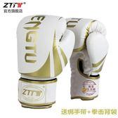 ZTTY征途新款拳擊手套專業訓練成人散打訓練泰拳格斗搏擊沙袋拳套【快速出貨】