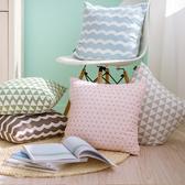 時尚簡約麂皮絨抱枕 靠墊24 沙發裝飾靠枕