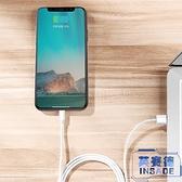 蘋果傳輸線iPhone手機充電器快充平板原裝【英賽德3C數碼館】