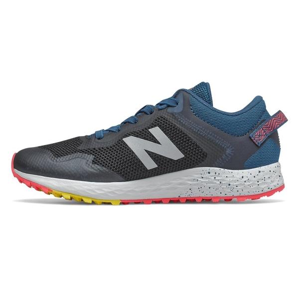 New Balance W 童鞋 大童 慢跑 緩震 Fresh Foam 網布 黑 藍【運動世界】YATARIBL