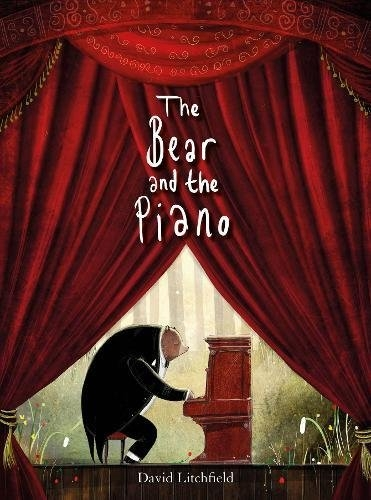 The Bear And The Piano 森林裡的鋼琴師精裝繪本