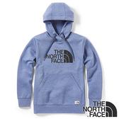 【THE NORTH FACE 美國】中性 快乾針織連帽長袖T恤『深藍/麻花』NF0A3VTH 戶外 登山 時尚 保暖