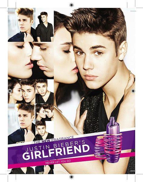 Justin Bieber Girlfriend 女朋友淡香精 100ml