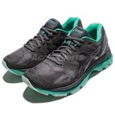 【五折特賣】Asics 慢跑鞋 Gel-Nimbus 19 Lite-Show 灰 綠 透氣穩定 運動鞋 女鞋【ACS】T7C8N9590