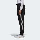 adidas 長褲 Perf PT Woven 3 黑 白 三條線 女款 運動褲 縮口褲 【PUMP306】 BK2625