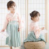 【熊貓】漢服女童儒裙民國風夏裝中國風唐裝改良復古