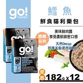 【SofyDOG】go!鮮食利樂貓餐包 豐醬系列 無穀鱈魚182g 12件組