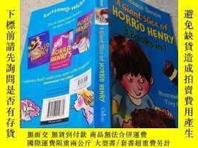 二手書博民逛書店A罕見GIANT SLICE OF HORRID HENRYY200392