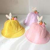 親子帽子兒童豆芽盆帽寶寶漁夫帽【奇趣小屋】