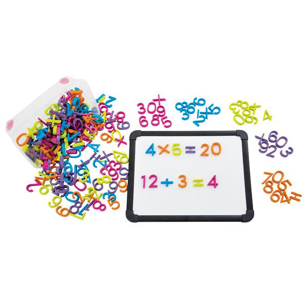【華森葳兒童教玩具】數學教具系列-磁性數字 E15-RGP126