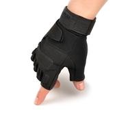運動半指手套男軍秋冬戶外用戰術手套