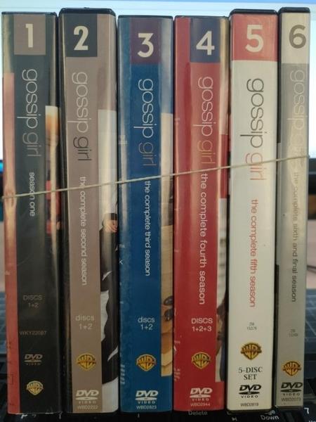 挖寶二手片-0032-正版DVD-影集【花邊教主 第1+2+3+4+5+6季 系列合售】-(直購價)