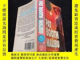 二手書博民逛書店Pat罕見Booth Malibu(英文原版書)32KY9636